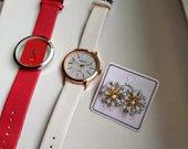 Laikrodukai ir auskarai