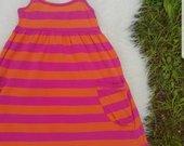 Graži dryžuota suknelė
