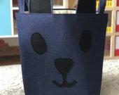 Rankų darbo žaislų lsikymo krepšiai