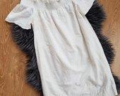 Daili pieno baltumo Zara suknelė