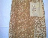 STAFF lininis platėjantis sijonas su kišene 2664-8