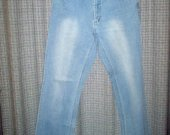 Friendtex platėjantys melsvi džinsai 2565-6