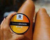 Shine Brown įdegį skatinantis kremas