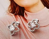 Louis Vuitton sidabrinia auskarai