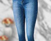 Skinny džinsai liko XL