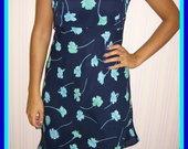 Gėlėta vasariška suknelė