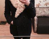 Zara melynas paltas