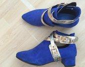 Žavūs mėlyni batukai