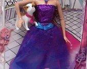 originali lėlė barbė madistė su šuniuku