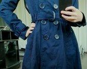 Mėlynos spalvos H&M paltukas