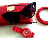 akinukai PRADA Style Red