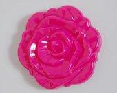 Rožės formos kosmetinis veidrodėlis