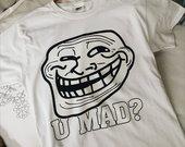 Balto Meme U mad Bro Marškinėliai