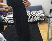Juoda ilga suknelė ZARA