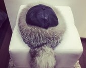 Naturalaus kailio kepure