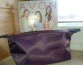 Dailaus dizaino/tvirto audinio violetinė kosmetinė