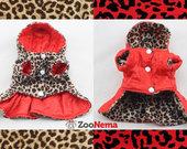 Paltukas šunytei dvipusis leopardinis