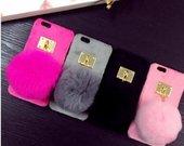 Nauji iphone dekliukai is naturalaus kailio