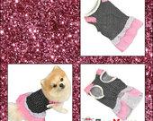 Taškuota suknelė šunytei