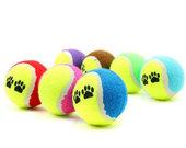 Žaislas-teniso kamuoliukas šuniukui