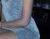 Sidabrine klubines suknele