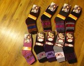 Moteriškos šiltos kojinės