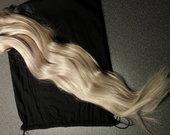 Naturalus prisegami plaukai