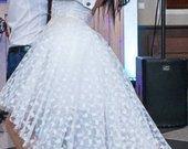 Trumpa  pūstavestuvinė-proginė suknelė