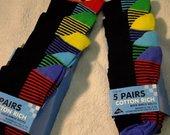 Naujų kojinių berniukui rinkinys