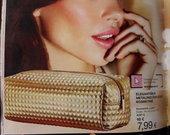 Avon Luxe auksinė kosmetinė