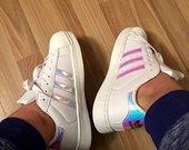 Adidas Superstar balti sportiniai bateliai