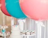 Dideli 70 cm dydžio balionai