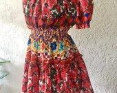Nauja gėlėta suknelė