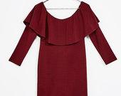 Nauja suknele atvirais peciais
