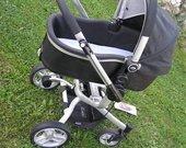 2-ieju daliu GRACO SYMBIO MOON vežimėlis
