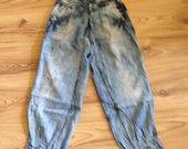 Plono džinso kelnės