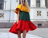 Lietuviškiausia trispalvė suknelė