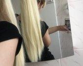 Aukštos kokybės sintetinių plaukų uodega