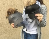 kepures su naturaliu kailiu