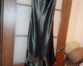 Atlasinė ruda suknelė