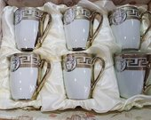 Versace stiliaus puodeliai