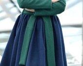 Vilnonis naujas paltukas - suknelė