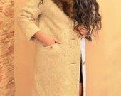 Stilingas Šiltas žieminis paltas