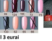 Nauji UV geliniai nagu lakai
