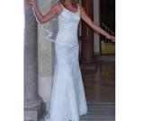 """""""undinės"""" modelio vestuvinė suknelė"""