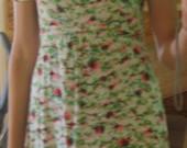 TopShop gėlėta suknelė