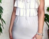 Nude spalvos nauja firmine suknelė