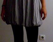 Pilka suknelė - balionėlis