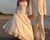 Vestuvinė suknelė ir kostiumas