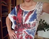 tunika-palaidinė su britanijos vėliava